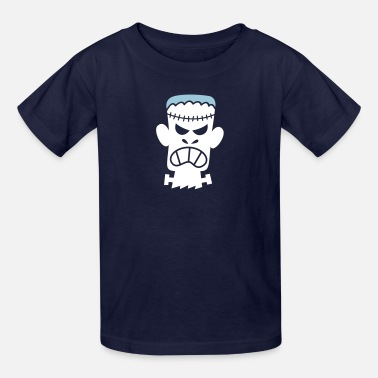Angry Giant Angry Halloween Frankenstein - Kids' T-Shirt