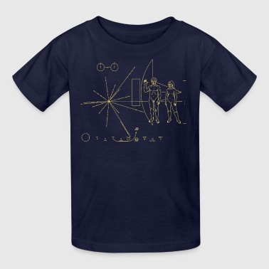Pulsar Voyager Map - Kids' T-Shirt