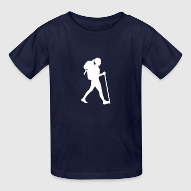 Trekking Hiking - Kids' T-Shirt