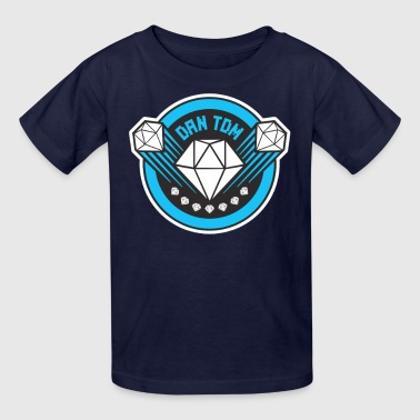 DAN TDM The Diamond Minecart New Diamond Logo - Kids' T-Shirt