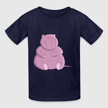 Hippo Cartoon T-Shirt - Kids' T-Shirt