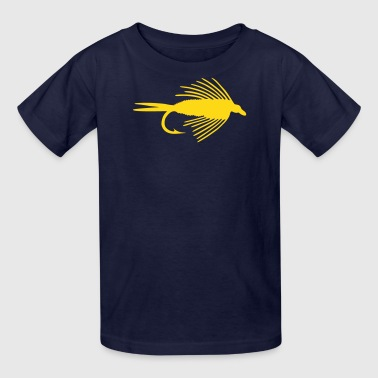 VECTOR GRAPHIC - FLY FISHING NYMPH - Kids' T-Shirt