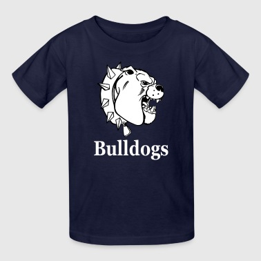 Bulldogs white - Kids' T-Shirt