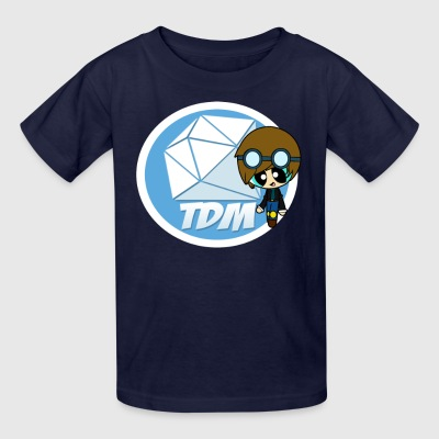Fans DAN TDM Minecart Fan Club - Kids' T-Shirt