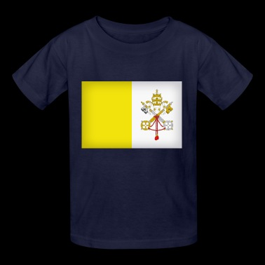 vatican city flag - Kids' T-Shirt
