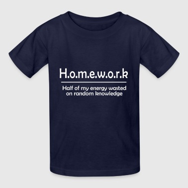Homework - Kids' T-Shirt