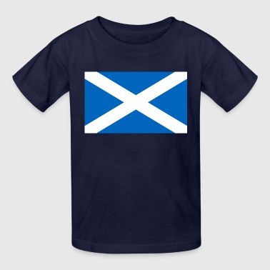 Flag of Scotland - Kids' T-Shirt