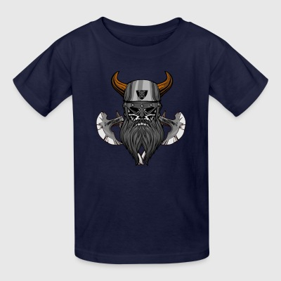 vikings viking thor ship - Kids' T-Shirt