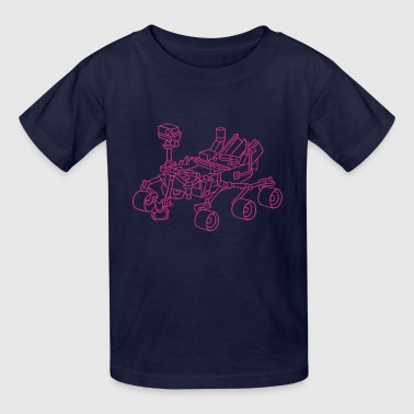 Curiosity, the Marsrover - Kids' T-Shirt