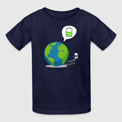 Recharge The World - Recharge The Earth - Kids' T-Shirt