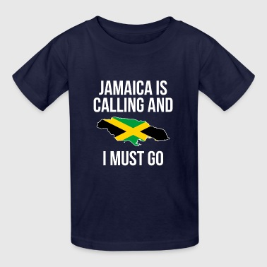 Jamaica T-Shirt. Meaning Costume For Grandparents. - Kids' T-Shirt