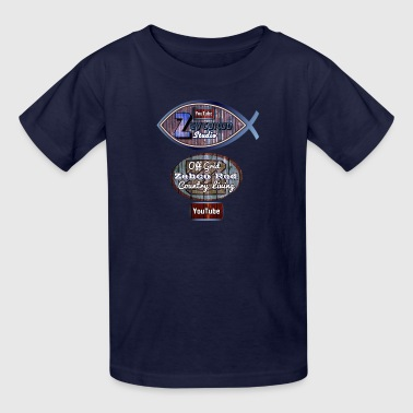 LARGE ZEBCO ROD LOGO - Kids' T-Shirt