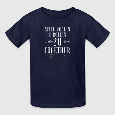 still rockin and rollin after 20 years to gether - Kids' T-Shirt