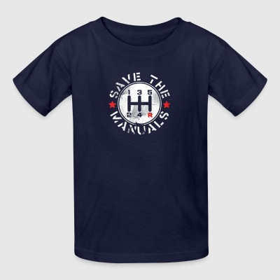 save manual transmission - Kids' T-Shirt