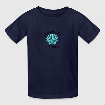 Off Duty Mermaid - Kids' T-Shirt