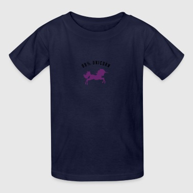 99% Unicorn - Kids' T-Shirt
