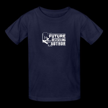 Future Best selling Author - Writer Tee - Kids' T-Shirt