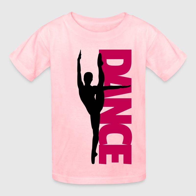 Dance Text Girl  - Kids' T-Shirt