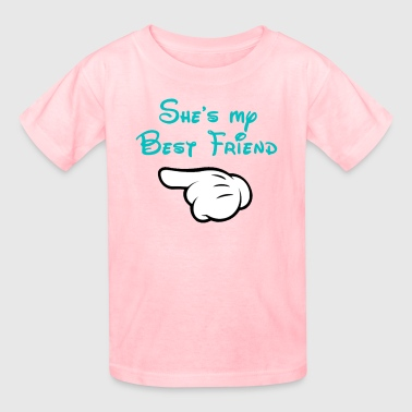 My BFF Mickey hand pointing right - Kids' T-Shirt