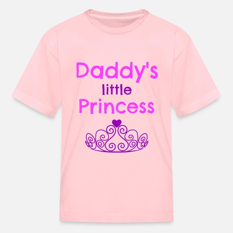 7d1e7d0fe Daddys Little Princess Kids' T-Shirt | Spreadshirt