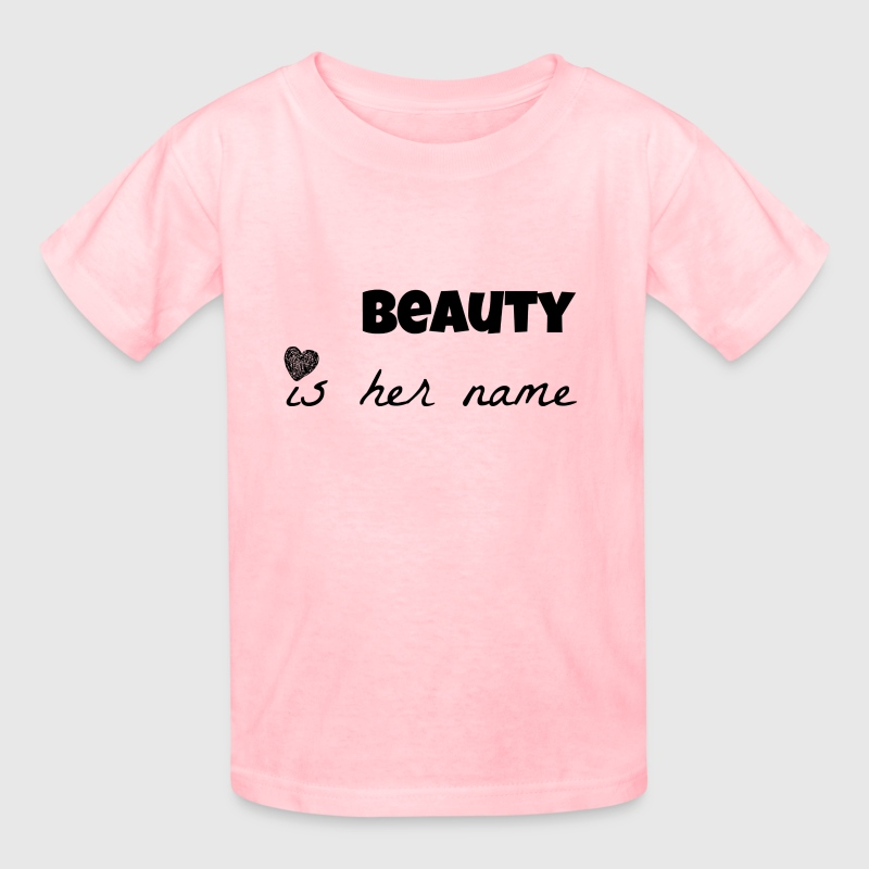 beauty is her name - Kids' T-Shirt