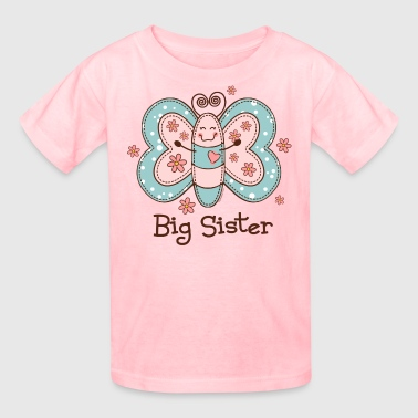 Big Sis Butterfly Big Sis - Kids' T-Shirt