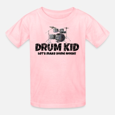 Drum Kid Funny Drummer Drums Kids (Noise) - Kids' T-Shirt