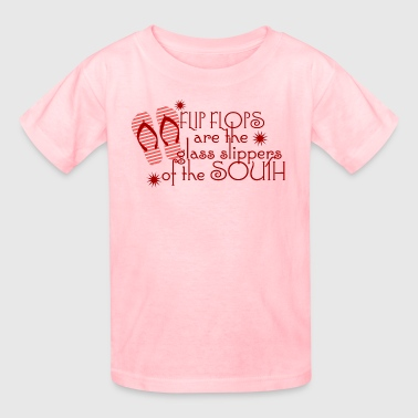 Flip Flop Sayings Flip Flops...of the South - Kids' T-Shirt