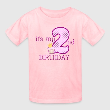 Girls 2ND BIRTHDAY - Kids' T-Shirt