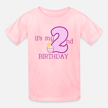 2nd Birthday Girls 2ND BIRTHDAY - Kids' T-Shirt