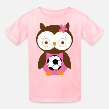 Pink Soccer Soccer Player Girl Pink - Kids' T-Shirt