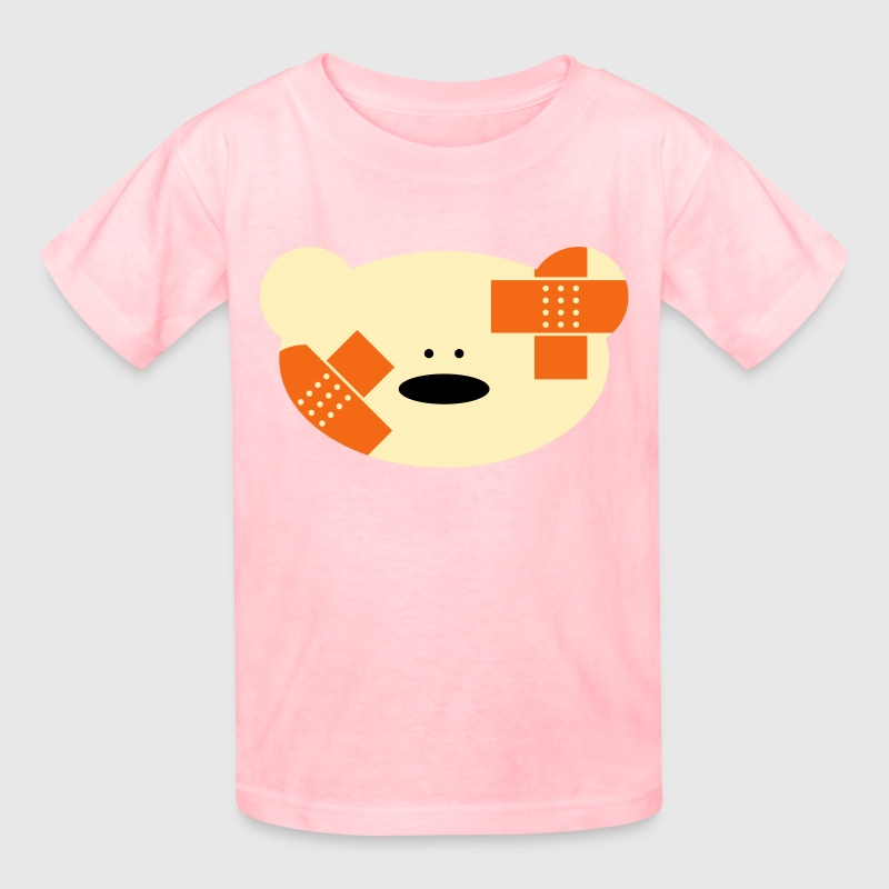 Teddy bear with plaster - Kids' T-Shirt