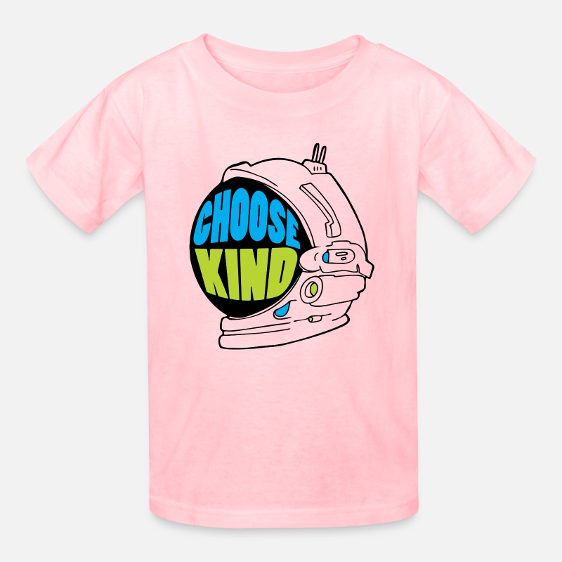 Kind T-Shirts - Choose Kind Wonder - Kids' T-Shirt pink