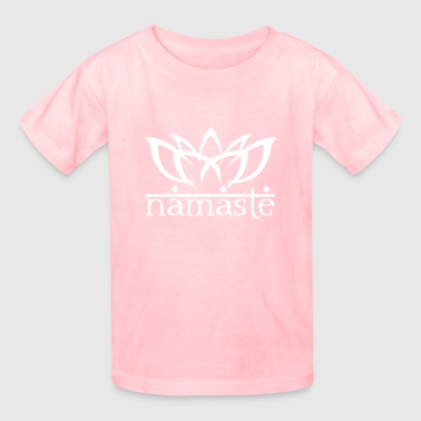 Namaste Lotus - Kids' T-Shirt