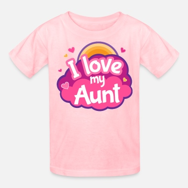 Aunt Aunt Gift I Love My Aunt - Kids' T-Shirt