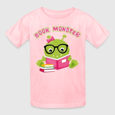 Book Monster Girl - Kids' T-Shirt