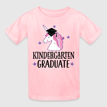 Kindergarten Graduate Girl Unicorn - Kids' T-Shirt