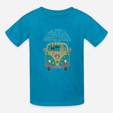 On A Dark Desert Highway On A Dark Desert Highway Cool Wind In My Hair - Kids' T-Shirt