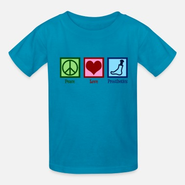 Prostheses Peace Love Prosthetics - Kids' T-Shirt