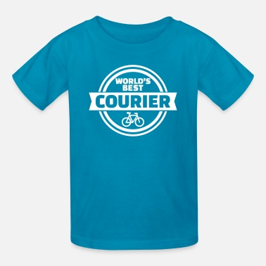 Courier Bike courier - Kids' T-Shirt