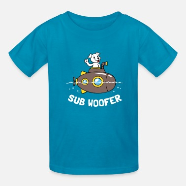 sub woofer - Kids' T-Shirt