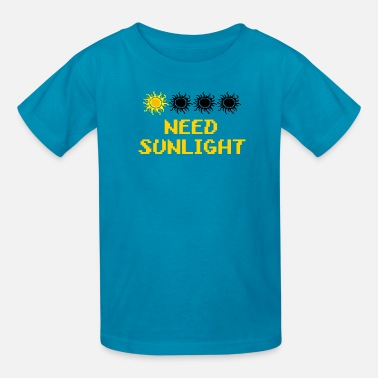 Sunlight need sunlight - Kids' T-Shirt