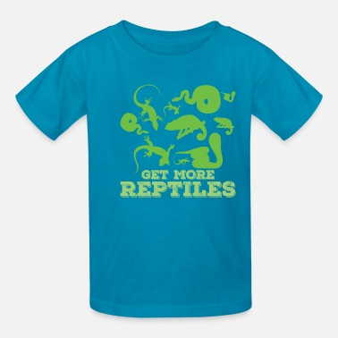 Stella Birth Get more Reptiles - Kids' T-Shirt