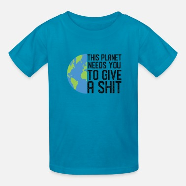 Save The Planet Funny Earth Day Climate Change Save The Planet - Kids' T-Shirt