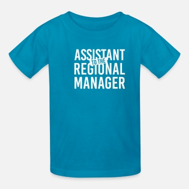 Manager Assistant To The Regional Manager - Kids' T-Shirt