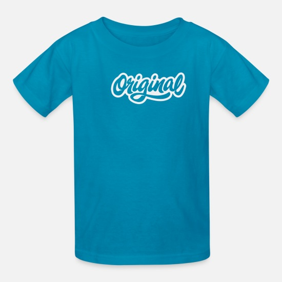 Movie T-Shirts - Original - Kids' T-Shirt turquoise