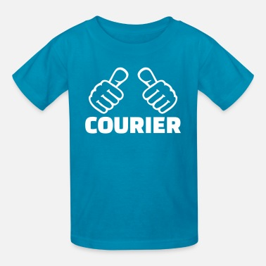 Courier Courier - Kids' T-Shirt