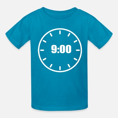 Clock clock - Kids' T-Shirt