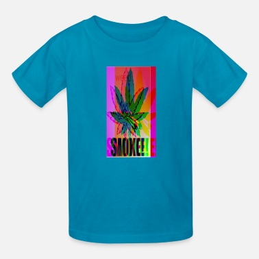 Trippy Weed LSD - Kids' T-Shirt