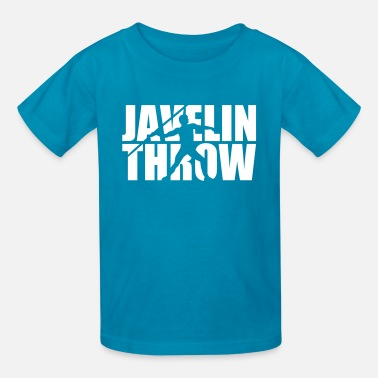 Throwing Javelin throw - Kids' T-Shirt